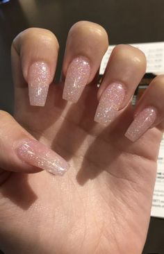 Spring fever nails 2019 57 super cute spring nails 16 - Skin beauty is one of th. - Beauthy - Spring fever nails 2019 57 super cute spring nails 16 – Skin beauty is one of the most sensitive - Summer Acrylic Nails, Best Acrylic Nails, Summer Nails, Sparkly Acrylic Nails, Simple Acrylic Nails, Acrylic Nail Designs Glitter, Acrylic Nail Designs For Summer, Simple Nails, Acrylic Nails Coffin Short