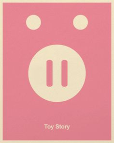 Minimalist Pixar Posters from Posterinspired - Toy Story