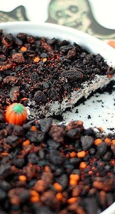 Halloween Oreo Cream Pie