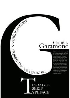 garamond poster with three level visual interest Poster Fonts, Type Posters, Typographic Poster, Poster Layout, Creative Typography, Graphic Design Typography, Mises En Page Design Graphique, Typography Magazine, Schrift Design