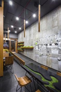 26JAN2015Hotels and Restaurants Interiors Selected Works Arch.Lab Chandigarh India 44 Share on email © Purnesh Dev Nikhanj Architects: Arch.Lab Location: Sector 11, Chandigarh, Chandigarh, India Design Team: Harsimran Singh, Mohit Vij, Taruni Aggarwal, Jasnam Kaur Area: 900.0 ft2 Year: 2014 Photographs: Purnesh Dev Nikhanj