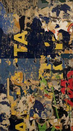 Mimmo Rotella, Prima o poi, 1958-61 Tornabuoni Art - La Dolce Vita Courtesy Tornabuoni Art