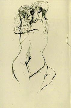 Dibujos eróticos de Egon Schiele para provocar tus pasiones interiores