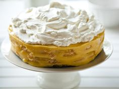 A Perfect Summer Treat--A Pineapple IceBox Cake!