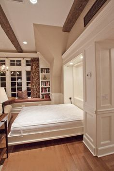 Porch with Fireplace / Guest House / Outdoor Living / Personal Getaway - traditional - bedroom - philadelphia - by Bryhn Design/Build