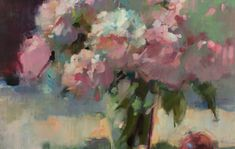 Ingrid Christensen -A Painter's Progress Art Flowers, Flower Art, Earth Pigments, Grey Palette, Oil Painters, Painting Process, Cool Tones, Photo Reference, Spring Green