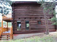 Red Log Cabin Mountain Retreat - VRBO