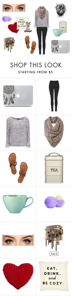 """""""Casual 3"""" by ohlala423 ❤ liked on Polyvore featuring Topshop, Brave Soul, Helene Berman, Tory Burch, Kim Seybert, Eos, Pier 1 Imports and Disney"""
