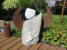 Steinengel ein sehr großes,schweres Exemplar.