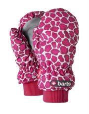 Barts Kids Nylon Mitts - Print Pink