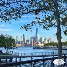 Skyline from Hoboken, New Jersey. September 2015. #MyViewYork Photo: @CXCArtist #Skyline #NYC #WorldTrade