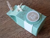 Mini Milchcontainer... Creative Things, Container, Etsy, Vintage, Mini, Handmade Gifts, Basteln, Vintage Comics, Primitive