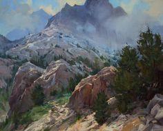 """Approaching Storm,"" Kenn Backhaus, 24x30, oil on canvas"