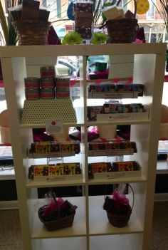 Inside the Waynesboro Store...The kids bars are all in tow and ready for Easter. Stop by to pick your up today or visit our website at www.zoeschocolate.com.