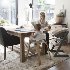 Stokke Seating options – Tripp Trapp and Stokke Steps – Two stunning designs for children with unique features