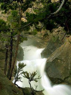 Waterfall in Sequoia National Park, California – USA http://pinterest.com/quinnproperties/ http://www.tumblr.com/blog/patrickquinnproperties