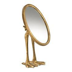 Duck Leg Makeup/Shaving Mirror
