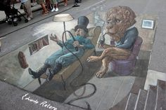 More Incredibly Surreal 3D Street Art Illusions - My Modern Metropolis