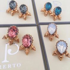 DREAM BIG and SPARKLE BRIGHTER  Get your favourite flavour by clicking the link in our bio  #Sorbet #Colors #Love #Luxury #Prerto #Earrings #Fashion #Jewellery