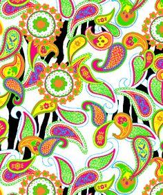Zebra Paisley  Swim by Marina Gabriel, via Behance