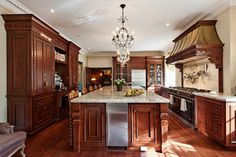 Golden Square Mile Mansion - Montreal - traditional - kitchen - montreal - David Giral Photography