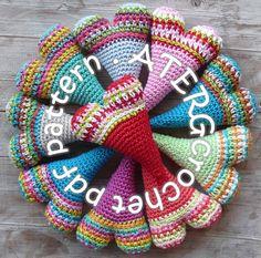 Crochet pattern LOVELY HEART by ATERGcrochet