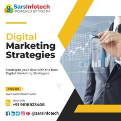 The best set of digital marketing strategies can help you in getting better output in your business. Haven't created it yet? No problems, get in touch with us @ 9818823408 to know more! #viralmarketing #youtubemarketing #instagram #videomarketingtips #socialselling #business #strategy #linkedInMarketing #onlinemarketing #promotion #instamarketing #twittermarketing #facebookmarketing #b2b #socialselling #marketing #branding #marketingtips #marketingstrategy #startup #sales #advertising Viral Marketing, Marketing Branding, Facebook Marketing, Social Media Marketing, Online Marketing, Digital Marketing Strategy, Marketing Strategies, Best Web Design, Marketing Consultant