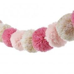 Adairs Kids - Pom Pom Garland Metallic Pink - Home & Gifts - Gifts & Toys - Adairs Kids Online