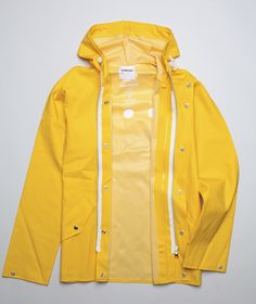 Raincoat - I had to wear this on rainy days because I walked to school.