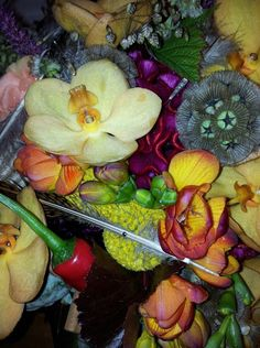 My wedding bouquet (detail) June 23 2012