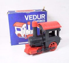 Vintage Collectible USSR Old Stock VEDUR NORMA Locomotive Train Toy Boxed Rare #Norma