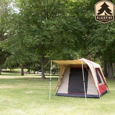 When you want luxury at the speed of minute the Turbo tents are just for you. The Pine Deluxe 4 Person Tent wraps all the features of the Pine Deluxe 6 Turbo Tent into a slightly smaller package.    #Sleepingbags #Camp #hiking #hunting #backpacking #camping #accessories #backpacks