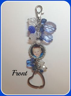 Custom Key Chain Double Side with Your by SportsnBabyCouture, $25.00