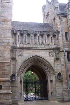 The Old Campus, Yale University. New Haven, CT