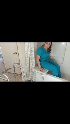 Elderly bathtub safety