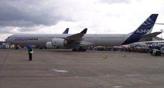 Airbus A340 entre as maiores aeronaves do mundo