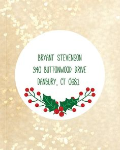 Items similar to Christmas return address labels return address stickers christmas labels custom stickers christmas custom return address labels christmas on Etsy Mailing Address Labels, Custom Return Address Labels, Christmas Return Address Labels, Return Address Stickers, Christmas Labels, Christmas Stickers, Custom Labels, Wedding Favor Labels, Party Labels