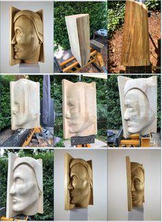 """""""Namid (Sternentänzer)"""". Skulptur aus Linde, geölt. Der Name ist indianischen Ursprungs. Fertigstellung Juli 2020. Weitere Skulpturen aus Holz und Stein des Bildhauers aus Köln, z.T. vergoldet mit 24 Karat Blattgold sind auf meiner website zu sehen."""