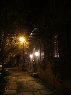 West Village, at night by La Citta Vita, via Flickr