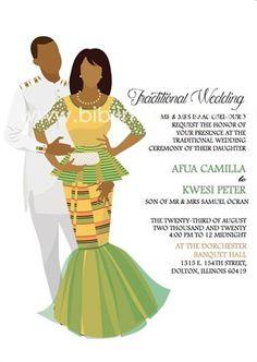 West African – Page 3 – Bibi Invitations Wedding Invitation Message, Wedding Invitation Samples, Invite, Igbo Wedding, Ghana Wedding, Ghana Traditional Wedding, Traditional Dresses, Ethiopian Wedding, Traditional Wedding Invitations