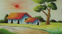 Image Result For Landscape Colored Pencil Painting