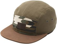 Vans Davis 5-Panel Hat - native camo