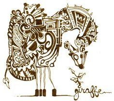 Giraffe by RoseForlorn
