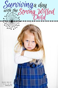 Are you dreading waking up tomorrow and having to survive another day with your strong willed child? I've been there and it's not easy! Here are a few things I've learned in my own battles!