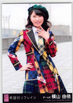 選抜 (希望的リフライン) 劇場盤 チムーK ー 横山由依 (Yokoyama Yui/Yuihan)