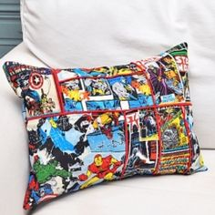 DIY superhero pillow