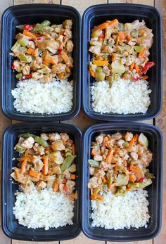 This Peanut Chicken Stir Fry Meal Prep Bowl is a healthy meal prep recipe you can make ahead of time! Does the meal prep bowl recipes limit exist? I really hope Healthy Meals For One, Easy Healthy Breakfast, Healthy Meal Prep, Healthy Eating, Stir Fry Meal Prep, Lunch Meal Prep, Meal Prep Bowls, Peanut Chicken Stir Fry, Healthy Dinner Recipes
