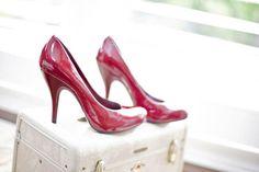 My wedding shoes    (www.rachellincoln.com)
