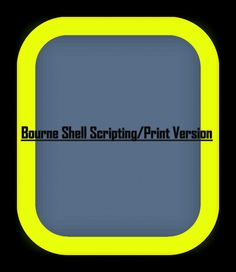 Bourne Shell Scripting - This book will cover the practical aspects of using and interacting with bourne shell ,the root of all shells in use in the unix world