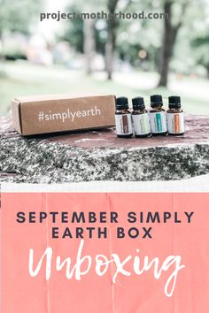 Essential oil tips: easy DIY DRAWER DEODORIZER + SEPTEMBER @fromsimplyearth BOX